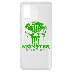 Чохол для Samsung A41 Monster Energy Череп