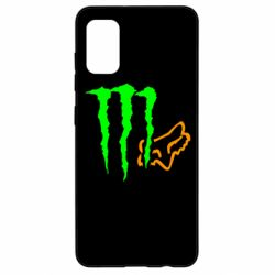 Чохол для Samsung A41 Monster Energy FoX
