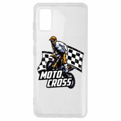 Чехол для Samsung A41 Motocross