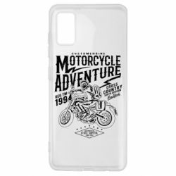 Чехол для Samsung A41 Motorcycle Adventure