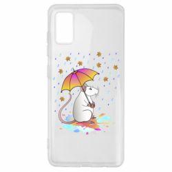 Чохол для Samsung A41 Mouse and rain