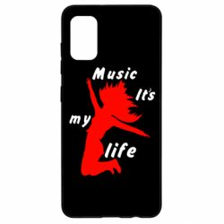 Чохол для Samsung A41 Music it's my life