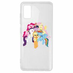 Чехол для Samsung A41 My Little Pony