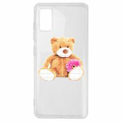 Чохол для Samsung A41 М'який ведмедик