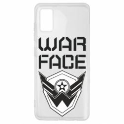 Чохол для Samsung A41 Напис Warface