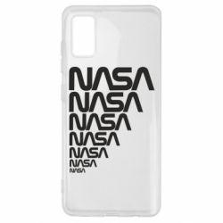 Чехол для Samsung A41 NASA
