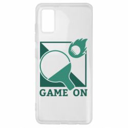 Чехол для Samsung A41 Настольный Теннис игра