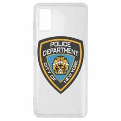 Чехол для Samsung A41 New York Police Department