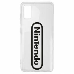 Чохол для Samsung A41 Nintendo logo