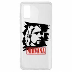 Чехол для Samsung A41 Nirvana Kurt Cobian