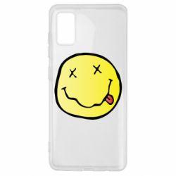 Чохол для Samsung A41 Nirvana Logo 3D