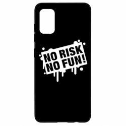 Чохол для Samsung A41 No Risk No Fun