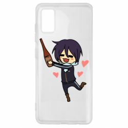 Чохол для Samsung A41 Noragami and drink
