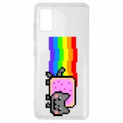 Чохол для Samsung A41 Nyan cat