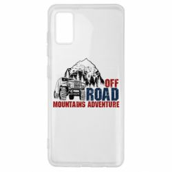 Чохол для Samsung A41 Off Road mountain adventure