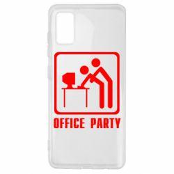 Чехол для Samsung A41 Office Party