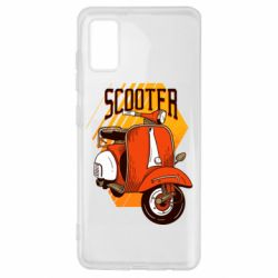 Чохол для Samsung A41 Orange scooter