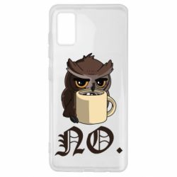 Чехол для Samsung A41 Owl and coffee