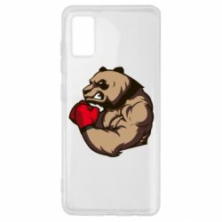 Чехол для Samsung A41 Panda Boxing