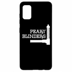 Чохол для Samsung A41 Peaky Blinders and weapon