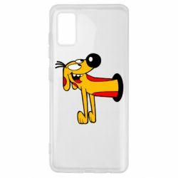Чехол для Samsung A41 Пес