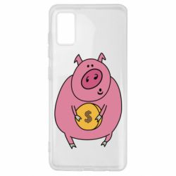 Чохол для Samsung A41 Pig and $