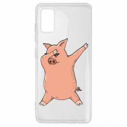 Чохол для Samsung A41 Pig dab