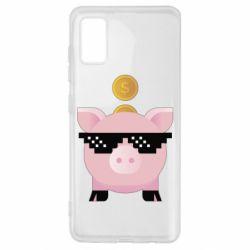 Чохол для Samsung A41 Piggy bank