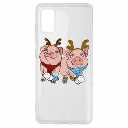 Чохол для Samsung A41 Pigs