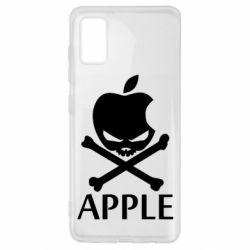 Чехол для Samsung A41 Pirate Apple