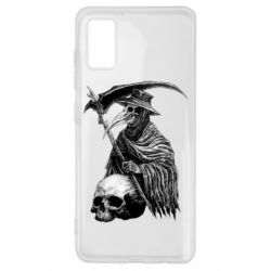 Чехол для Samsung A41 Plague Doctor graphic arts