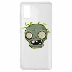 Чохол для Samsung A41 Plants vs zombie head