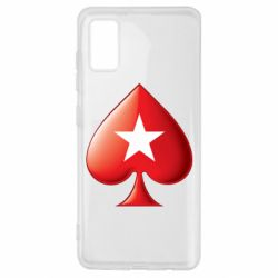 Чохол для Samsung A41 Poker Stars 3D Logo