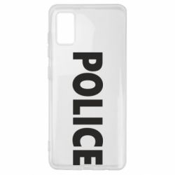 Чехол для Samsung A41 POLICE