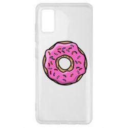Чехол для Samsung A41 Пончик Гомера