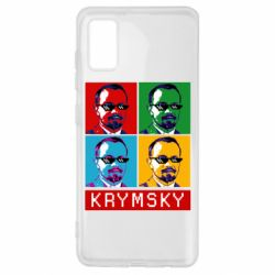 Чохол для Samsung A41 Pop man krymski
