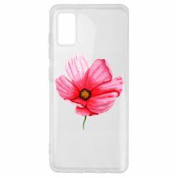 Чехол для Samsung A41 Poppy flower