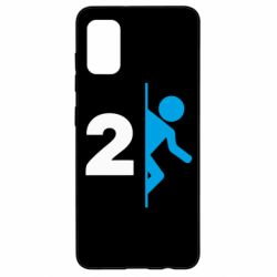 Чехол для Samsung A41 Portal 2 logo