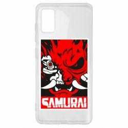 Чохол для Samsung A41 Poster samurai Cyberpunk