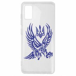 Чохол для Samsung A41 Птах та герб