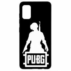 Чехол для Samsung A41 PUBG logo and hero