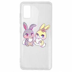 Чохол для Samsung A41 Rabbits In Love