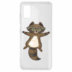 Чохол для Samsung A41 Raccoon
