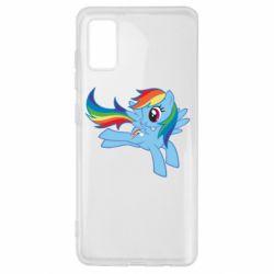 Чохол для Samsung A41 Rainbow Dash run