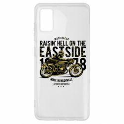 Чохол для Samsung A41 Raisin Hell Moto Racer