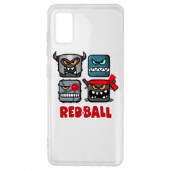 Чехол для Samsung A41 Red ball heroes