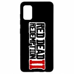 Чохол для Samsung A41 Red Dead Redemption logo