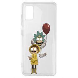 Чехол для Samsung A41 Rick and Morty: It 2