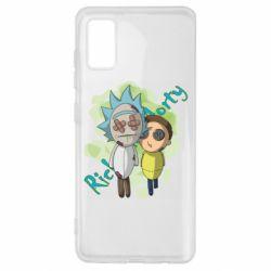 Чохол для Samsung A41 Rick and Morty voodoo doll