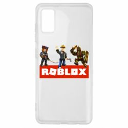 Чехол для Samsung A41 Roblox Heroes